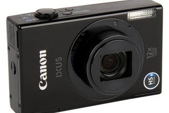 Canon IXUS 510 HS – малыш с большим зумом и большим экраном