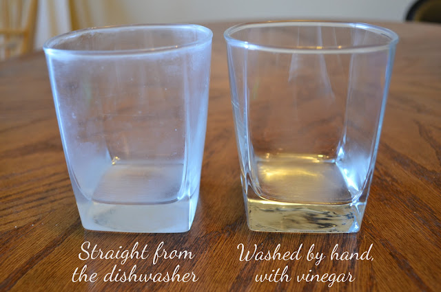 Shining Glassware Before and After