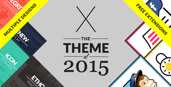 x - best wordpress theme 2015