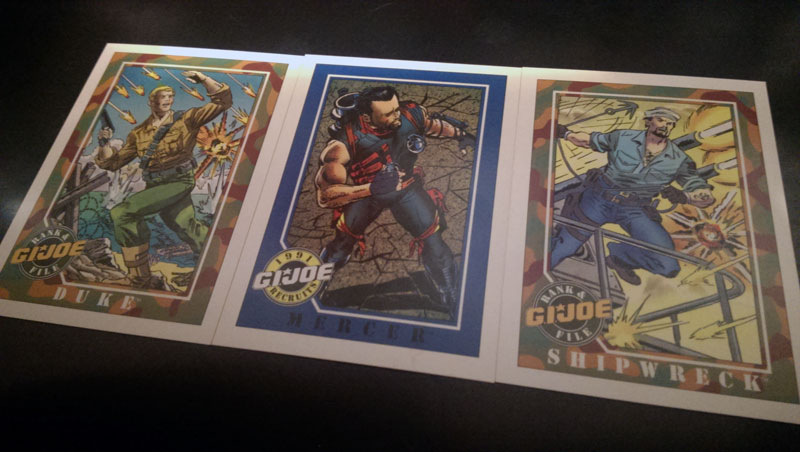 Trade or Die: Impel's G.I. JOE Trading Cards (1991)