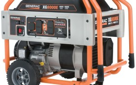 Can the Generac 5747 XG8000E Gas Powered Portable Generator with Wheel Kit And Electric Start be considered as the best?