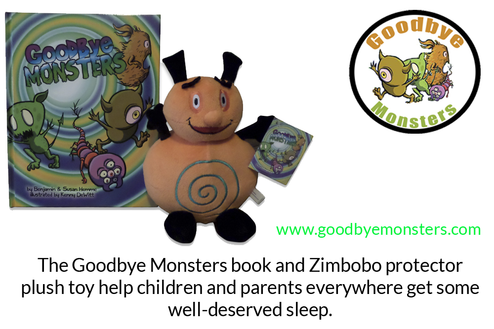 Goodbye Monsters Zimbobo Gift Set