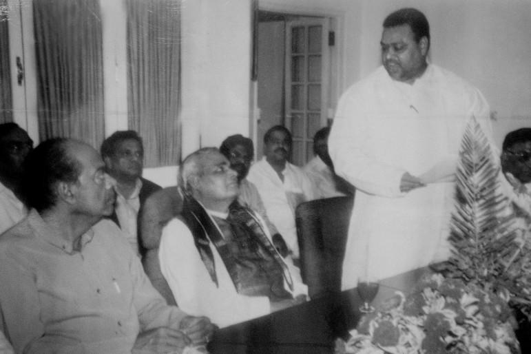 Dr Ramanaidu as MP