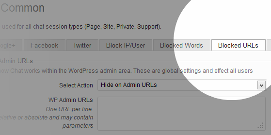 wordpress-chat-2042-settings-common-url-blocking
