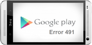 Google play error 491