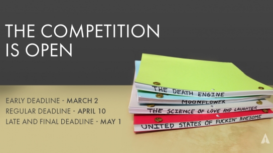 The competition is open for submissions