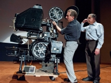 Academy Chief Projectionist and Silent Film Historian and Projectionist
