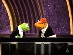 Jim Henson, Kermit and Scooter: 1986 Oscars