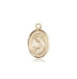 Image of St. Rose of Lima Medal (14kt Gold)
