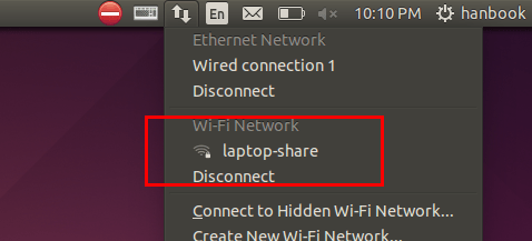 wifi hotspot connected