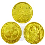 Ganesh-Gold-and-Silver-Coins