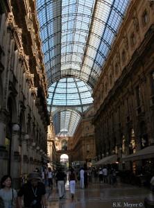 Galleria Vittorio Emanuele, interior, Milan (Photo: S.K. Meyer ©)