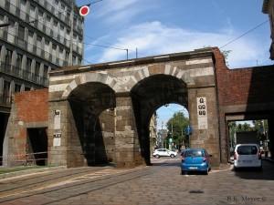 Porta Nuova (medieval), Milan (Photo: S.K. Meyer ©)