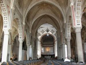 Santa Maria delle Grazie, interior-central nave, Milan (Photo: S.K. Meyer ©)