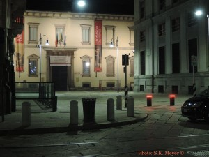 Ambrosian Library and Pinacoteca, entrance since the early 19th century, restored 21st century (Photo: S.K. Meyer ©)
