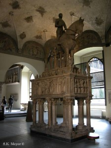Funeral Monument of Bernabò Visconti, Sforza Castle, Milan (Photo: S.K. Meyer ©)