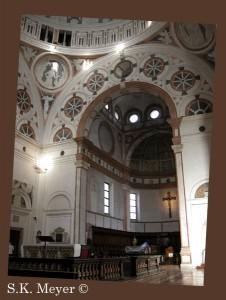 Santa Maria delle Grazie, interior-tribune (Photo: S.K. Meyer ©)