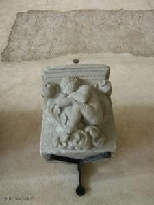 Putto from the Branda Castiglione episcopal palace in Castiglione Olona, near Milan, now in the Sforza Castle, Milan (Photo: S.K. Meyer ©)
