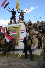 War with Isis: Iraq declares victory in the battle for Tikrit - but militants make make ominous advances in neighbouring Syria's capital