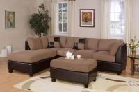 Microfiber Sofa & Ottoman Set F7616