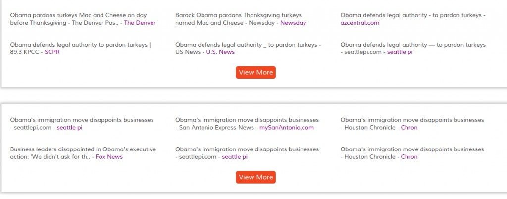 barack obama - News results clustered by topics-events - OOYUZ News Analytics (4)