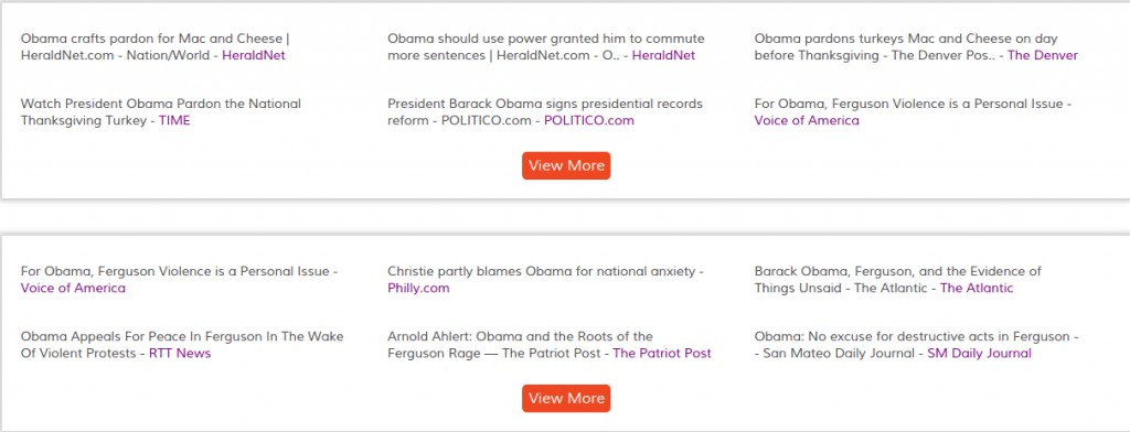 barack obama - News results clustered by topics-events - OOYUZ News Analytics (2)