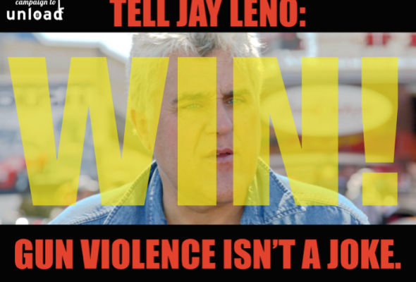 We Won! Jay Leno Cancels Appearance at Gun Industry Trade Show