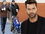 MADRID, SPAIN - MARCH 12:  Ricky Martin presents the deluxe edition of his new album 'A quien quiera escuchar' ('To Whoever Wants to Listen') on March 12, 2015 in Madrid, Spain.  (Photo by Europa Press/Europa Press via Getty Images)