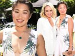 BEVERLY HILLS, CA - APRIL 08:  Actress Jenna Ushkowitz attends the June Moss Launch Party hosted by Becca Tobin at a private residence on April 8, 2015 in Beverly Hills, California.  (Photo by Michael Buckner/Getty Images for June Moss)