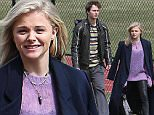 """EXCLUSIVE: ChloÎ Grace Moretz and Ansel Elgort on set filming their new movie """"November Criminals"""" at Hope High School in Providence, Rhode Island.\n\nPictured: ChloÎ Grace Moretz, Ansel Elgort,\nRef: SPL993235  060415   EXCLUSIVE\nPicture by: Ryan Turgeon / Splash News\n\nSplash News and Pictures\nLos Angeles:\t310-821-2666\nNew York:\t212-619-2666\nLondon:\t870-934-2666\nphotodesk@splashnews.com\n"""