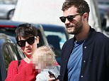 07.APR.2015 - LONDON - UK\n*** EXCLUSIVE ALL ROUND PICTURES - STRICTLY AVAILABLE FOR UK NEWSPAPERS ONLY ***\n50 SHADES OF GREY HUNK JAMIE DORNAN SPOTTED TOGETHER WITH HIS ACTRESS WIFE AMELIA WARNER AND THEIR DAUGHTER DULCIE OUT AND ABOUT IN WEST LONDON GOING FOR A SPOT OF LUNCH IN AN ITALIAN RESTAURANT\nBYLINE MUST READ : XPOSUREPHOTOS.COM\n***UK CLIENTS - PICTURES CONTAINING CHILDREN PLEASE PIXELATE FACE PRIOR TO PUBLICATION ***\n**UK CLIENTS MUST CALL PRIOR TO TV OR ONLINE USAGE PLEASE TELEPHONE  442083442007