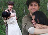 EXCLUSIVE: Selena Gomez is filming 'In Dubious Battle' in Georgia with old pals James Franco and Nat Wolff, it is understandable she wants some souvenirs. Selena was seen in the arms of the main actor Nat Wolff while posing for her iphone. She later on tried to capture Nat Wolff in actions but failed. Nat wanted to see the photos but Selena was teasing him, refusing to show him. \n\nPictured: Selena Gomez, Nat Wolff\nRef: SPL993930  080415   EXCLUSIVE\nPicture by: Sultana / Splash News\n\nSplash News and Pictures\nLos Angeles: 310-821-2666\nNew York: 212-619-2666\nLondon: 870-934-2666\nphotodesk@splashnews.com\n