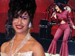 Mexican singer Selena performing in concert; one month later she would be shot and killed by Yolanda Saldivar, the pres. of her fan club, after confronting her on charges that she was embezzling funds.  (Photo by Arlene Richie/Media Sources/Media Sources/The LIFE Images Collection/Getty Images)