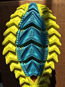 Les crampons de cette chaussure de trail Saucony sont impressionnants, non ?