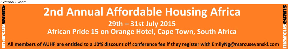 2nd Annual Affordable Housing Africa