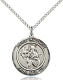 Image of St. Matthew the Apostle Pendant (Sterling Silver)