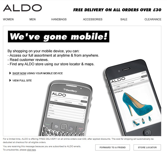 Aldo-weve-gone-mobile-email