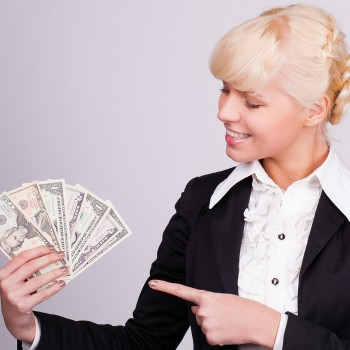 money-woman-work