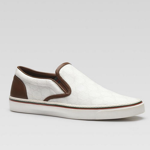 gucci FNOSO slip on sneakers with signature web 1142