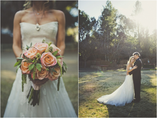 french-rustic-wedding-bride-groom-bouquet