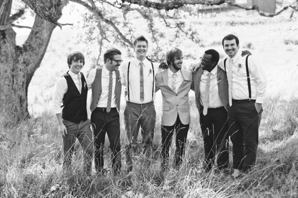 vintage mismatched men's attire