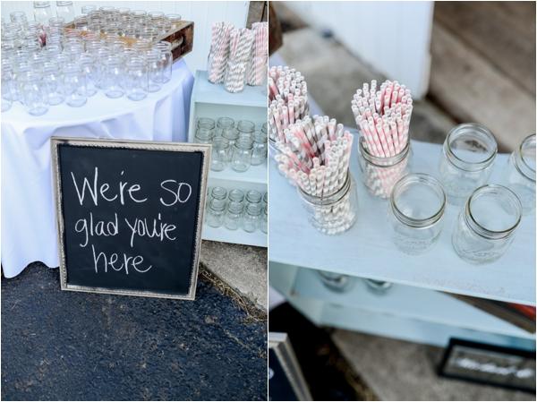 rustic-vintage-diy-wedding-beverage-display
