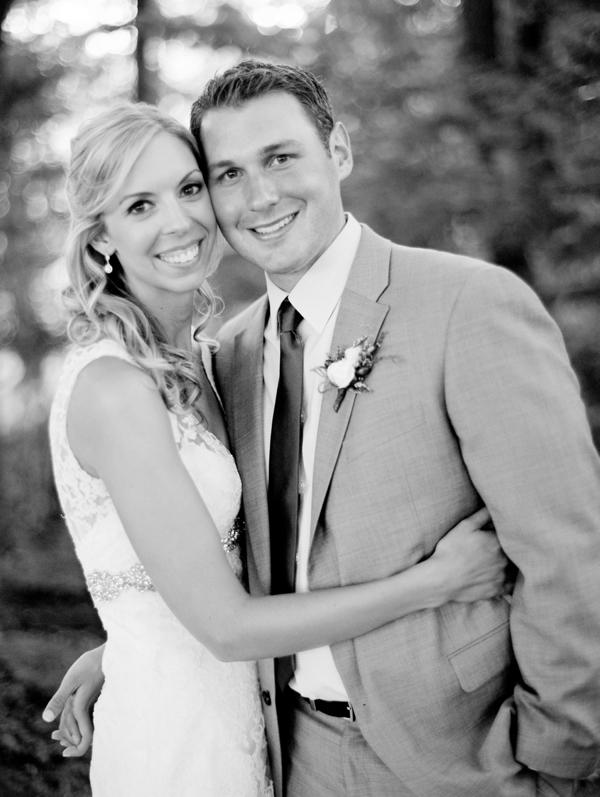 bride and groom portraits, Rustic Wisconsin Resort Wedding, Emily Steffen Photography