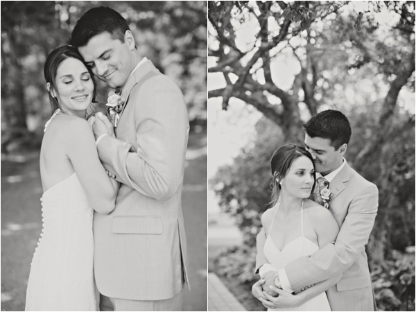 bride and groom, simple lakeside wedding, peach, pink, beige, cream, and mint wedding ideas, Ruth Eileen Photography