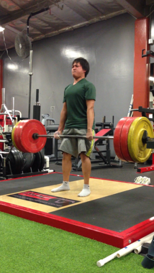 Few form corrections later, new 275lb PR
