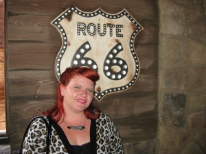 Rockabilly redhead