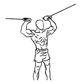 Overhead Curl with Cable 2