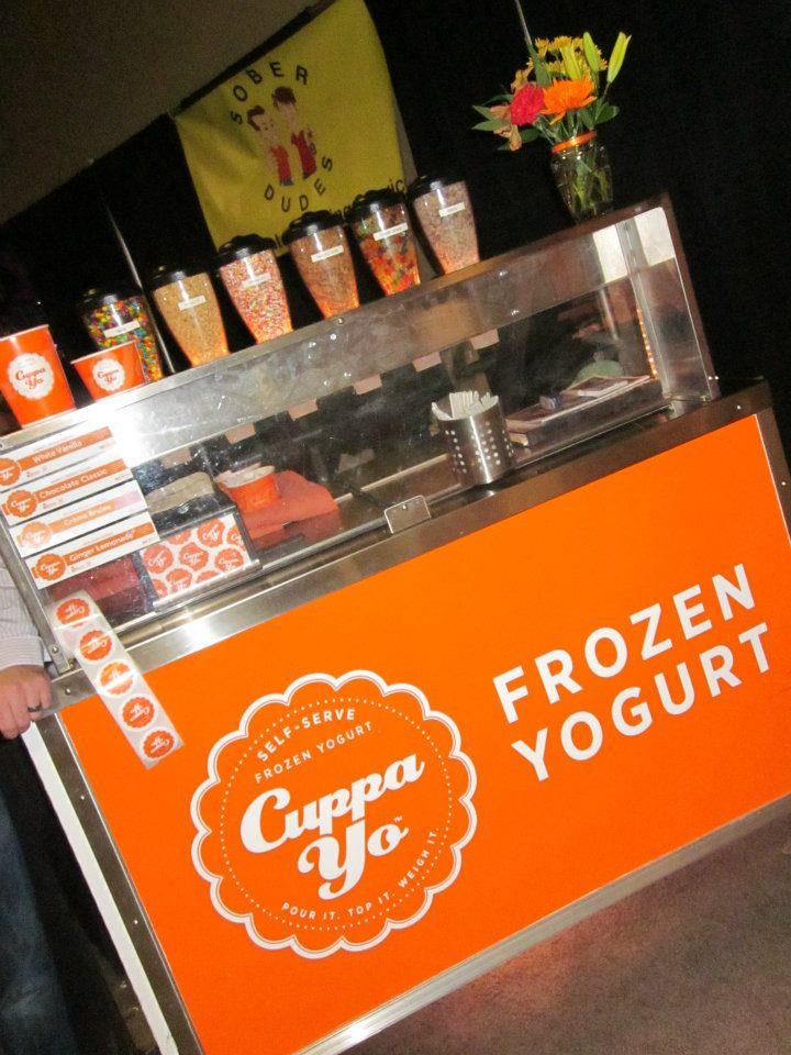 yogurt store catering mobile vending cart