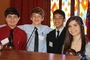 """Students in grades 6-8 travel to the Old State Capitol to debate bills, pass laws, and serve as """"elected officials"""" during Youth Legislature sessions."""