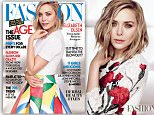 Elizabeth Olsen, Fashion Magazine, May 2015\nPlease link back to the story here: http://www.fashionmagazine.com/fashion/2015/04/13/fashion-magazine-may-2015-cover-elizabeth-olsen/ \n\nCover credits: Photographed by Chris Nicholls and styled by Heidi Meek with fashion direction by Zeina Esmail. Elizabeth Olsen wears a top, $330, skirt, $3,010, and cuff, $260, DSquared. Ring, $135, Dean Davidson.